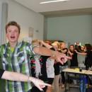 Viel Action am letzten Schultag
