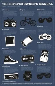 Unverzichtbar: Diese Accessoires braucht jeder Hipster. (Quelle: golem13.fr)