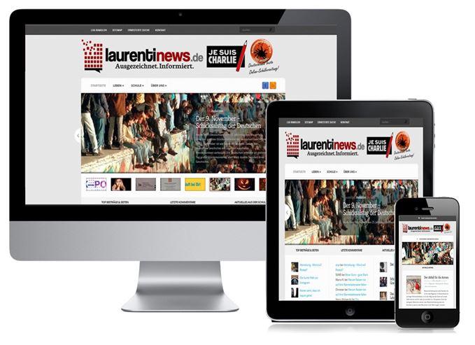 responsive design laurentinews