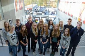 Die Schülervertretung des LSG im Schulajhr 2015/16. Erstmals sind nur Klassensprecher in der SV vertreten.