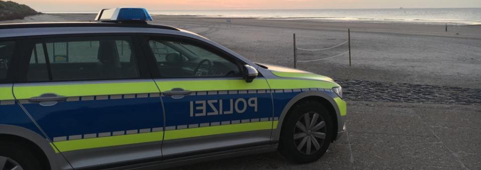 Streife am Strand – der Inselpolizist